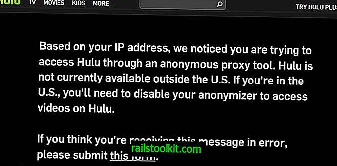 Što možete učiniti protiv Huluovog bloka anonimnih proxyja