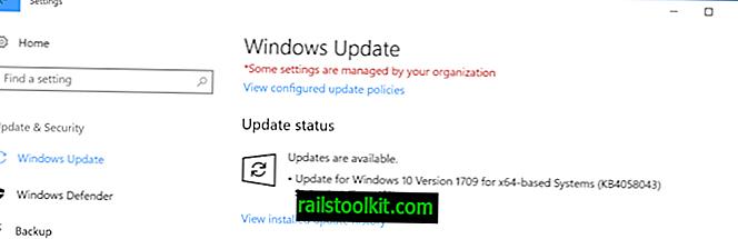 KB4058043: Aktualizace spolehlivosti Microsoft Store pro Windows 10 verze 1709