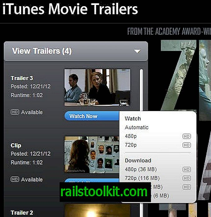 Shranite filme Quicktime iz prikolic Apple