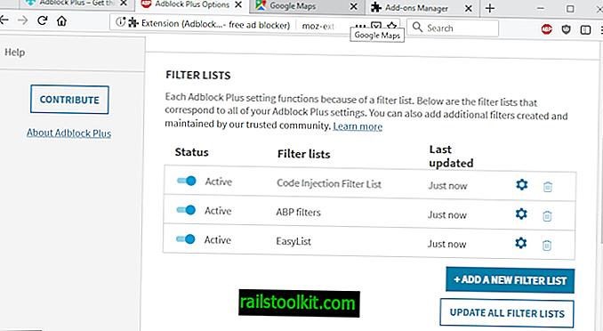 Adblock Plus-Filter-Exploit zum Ausführen von entdecktem Code