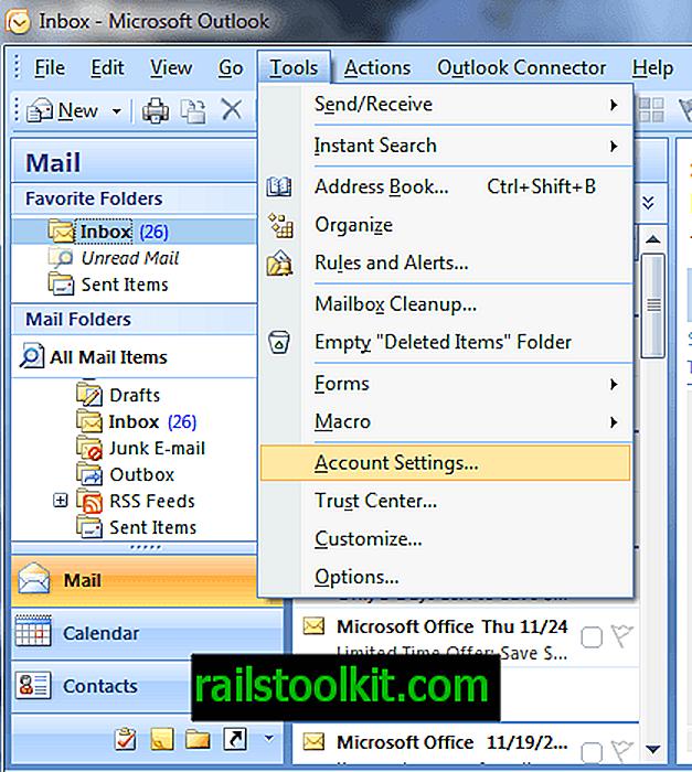 Cara Cari Fail PST Anda di Microsoft Outlook 2007 dan 2010