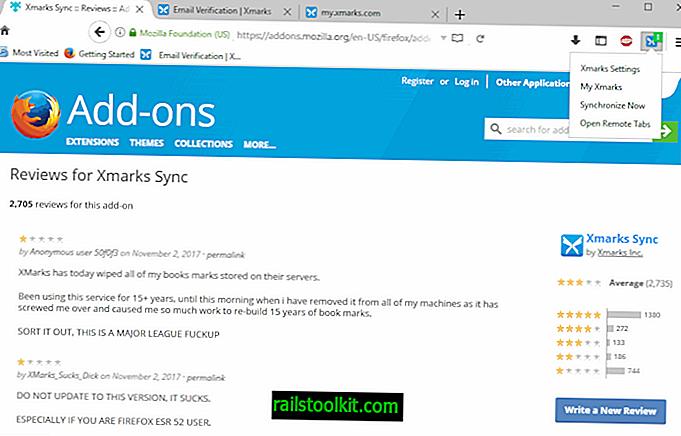 Was ist los mit Xmarks für Firefox?