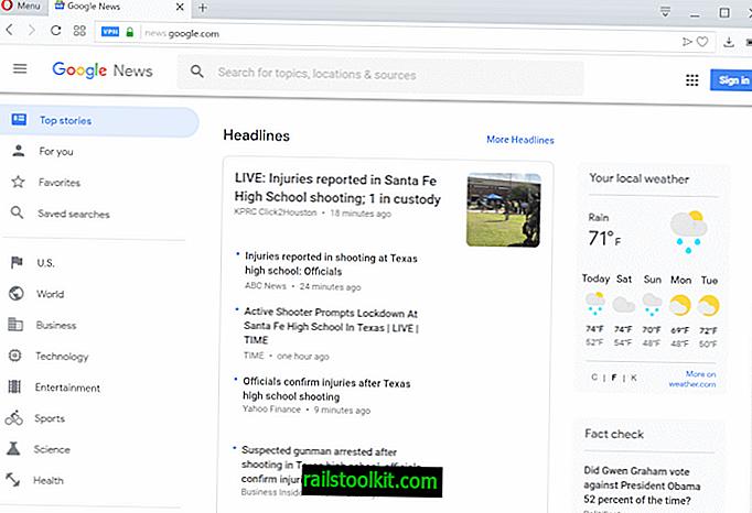 Opdatering af Google Nyheder, og brugerne er i ophidselse