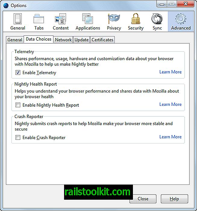 Kenapa anda mahu mendayakan data Telemetri Firefox