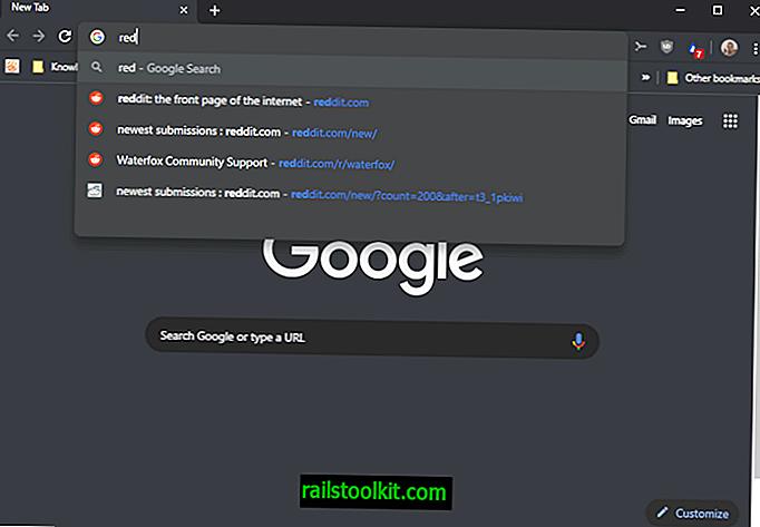 Repara Chrome priorizando palabras de búsqueda sobre sitios visitados en la barra de direcciones