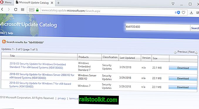 Windows 7 및 Server 2008 R2 용 KB4100480 대역 외 보안 업데이트