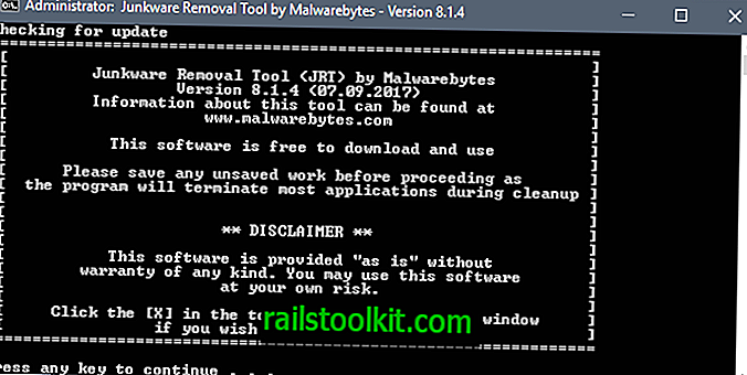 Malwarebytes abandonne l'outil de suppression de Junkware