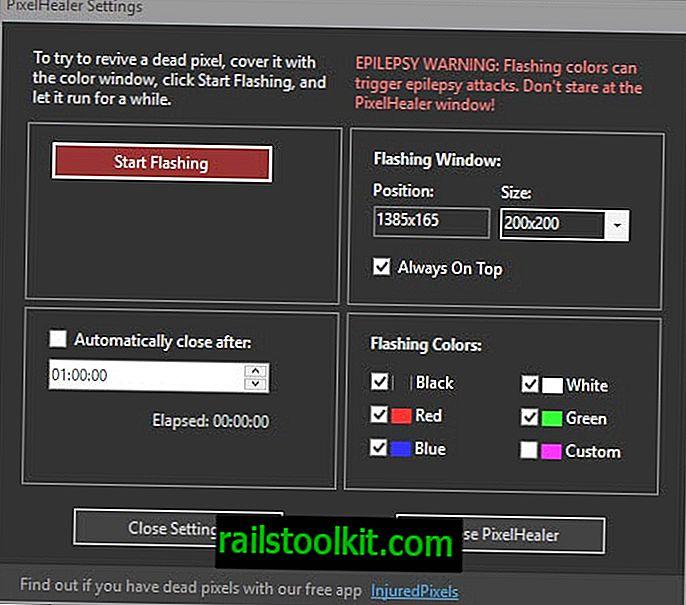 ПикелХеалер: поправите неисправне пикселе на ЛЦД екранима