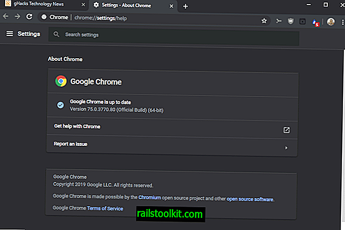 Google izdaja Chrome 75 Stable za namizne in mobilne naprave