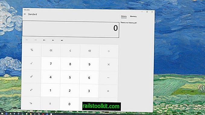 Co se děje s obrovskou kalkulačkou v systému Windows 10, Microsoft?