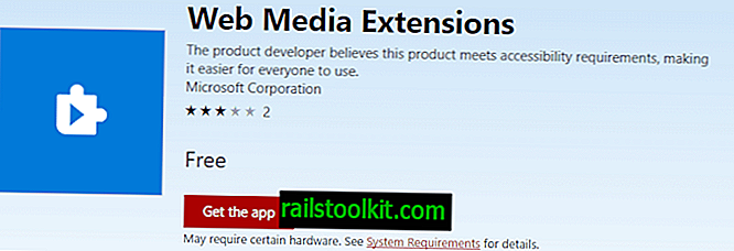 Microsoft rilascia Web Media Extensions per Windows 10