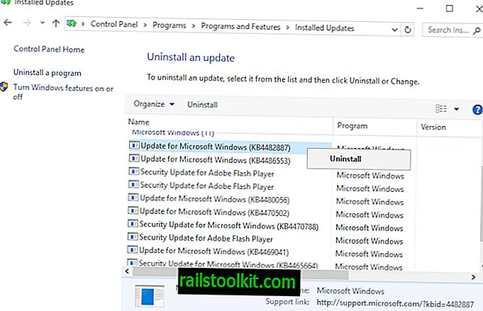 KB4482887 per Windows 10 1809 causa problemi di prestazioni del gioco