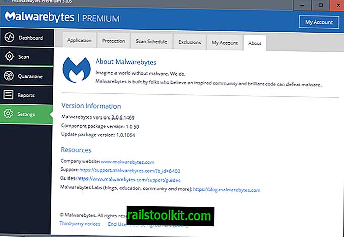 Malwarebytes 3.0.6 z izboljšanjem stabilnosti in zmogljivosti