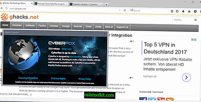 """""""Cyberfox"""" autorius skelbia žiniatinklio naršyklės mirtį"""