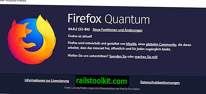 Firefox 64.0.2 corrigeert video stotteren op YouTube
