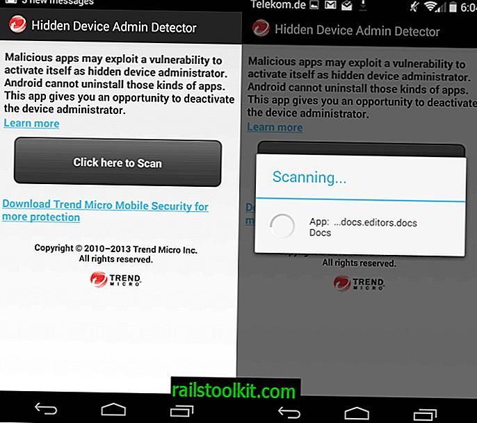 Provjerite skrivene administratore Android uređaja