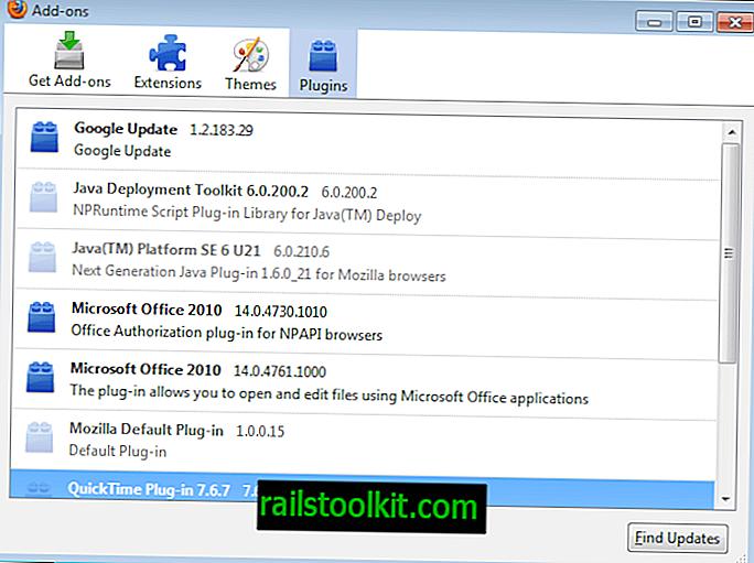 Firefoxからプラグインを削除する方法
