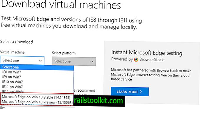 Kuinka ajaa Microsoft Edge Windows 7 -käyttöjärjestelmässä