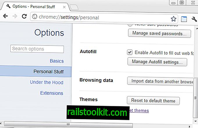 Cómo desinstalar temas de Google Chrome