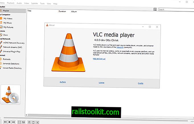 VLC Media Player 4.0 priekšskatījums