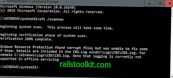 SFCFix reši, ko SFC / Scannow ne more popraviti poškodb datotek Windows