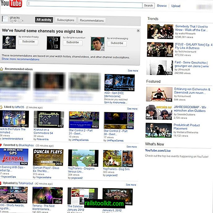 Comment revenir à l'ancienne conception de page YouTube