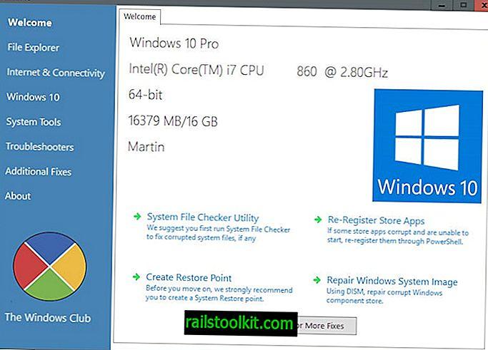Korjaa ja korjaa Windows 10 -ongelmat FixWin 10: n kanssa
