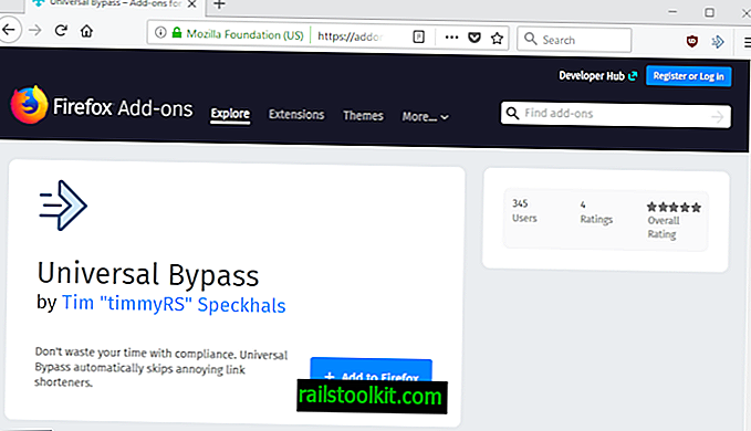 Bypass URL shortener link, které vyžadují akci