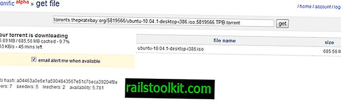 Torrific, Hidupkan Torrents Ke Muat Turun HTTP Langsung