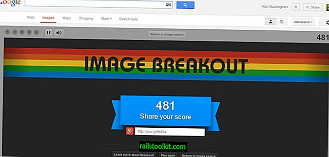 Google présente l'oeuf de Pâques Atari Breakout
