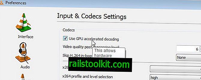 Kaip įjungti pagreitintą GPU dekodavimą VLC