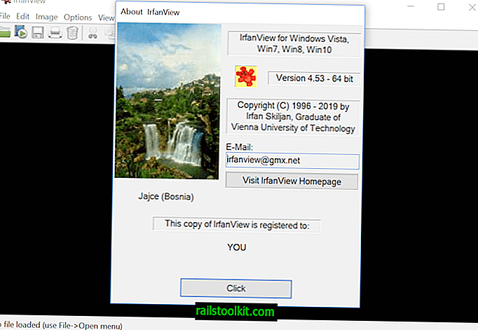 "Išleista ""IrfanView 4.53 Image Viewer"""