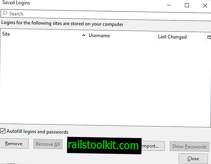 Firefox 67: salasananhallinnan parannukset