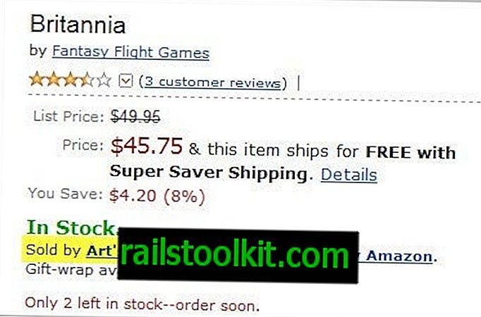Nur Artikel anzeigen, die von Amazon verkauft werden