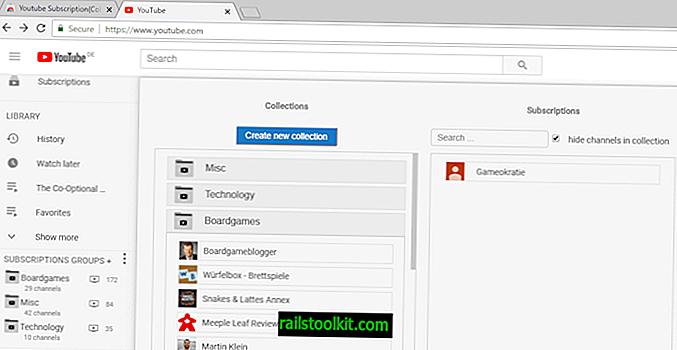 Grupirajte svoje pretplate na YouTubeu po temama