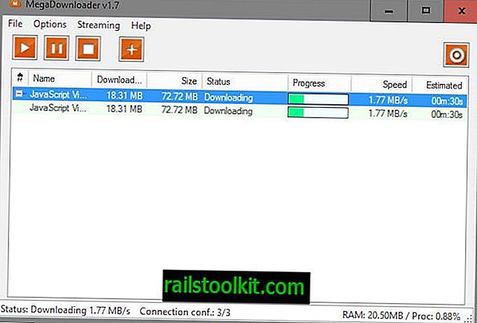 MegaDownloader를 사용하여 Mega에서 호스팅 된 파일을 다운로드하거나 스트리밍