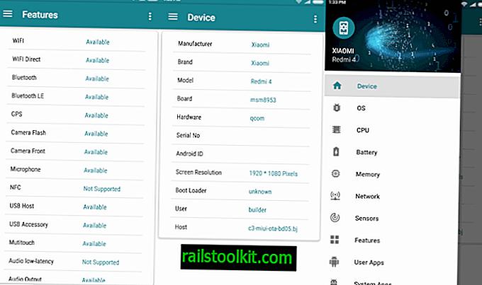 Moj uređaj: najbolja aplikacija informacija o sustavu za Android?
