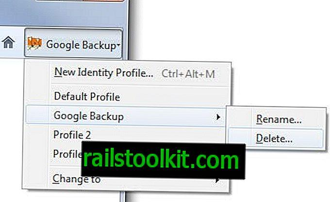 Utilizzare Multifox per accessi a più siti Web
